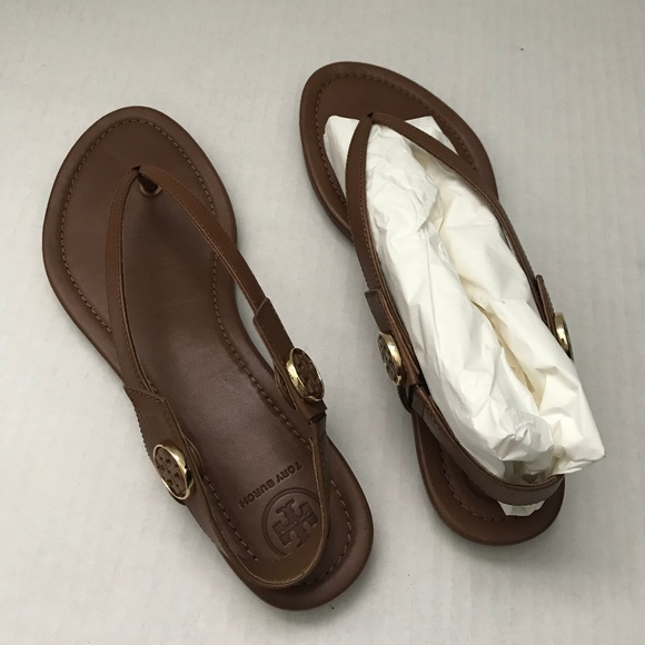 838a393b0 Tory Burch Leather Sandals